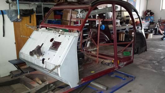 Restaurierung - Entenkult 2cv Werkstatt