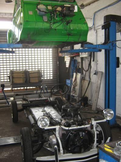 Fahrzeugrahmen/ Chassis - Entenkult 2cv Werkstatt